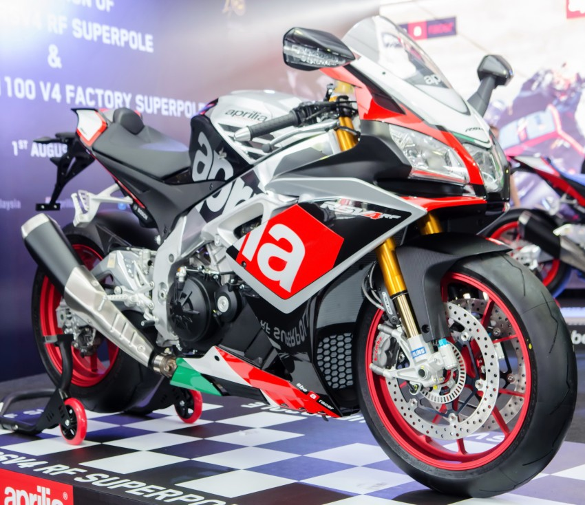 2016 Aprilia RSV4 RF Price and Dyno Test 1