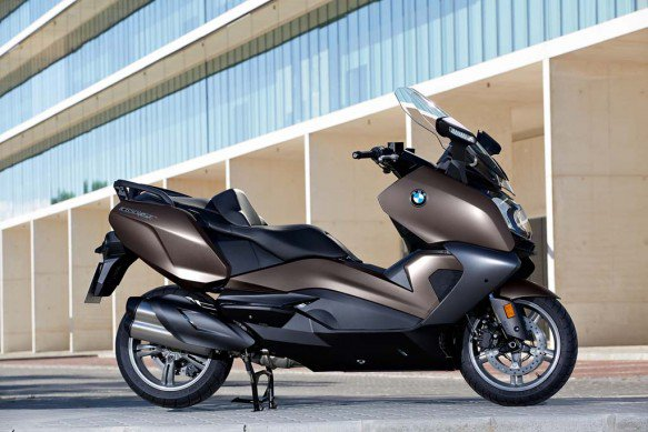 2016 BMW C650GT Brown Colour