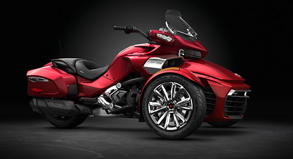 2016 Can-Am Spyder F3-T Release Date Colors