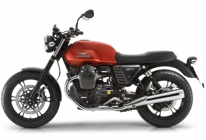 2016 Moto Guzzi V7 II Stone ABS Review 1