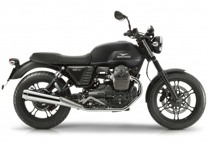 2016 Moto Guzzi V7 II Stone ABS Review 2