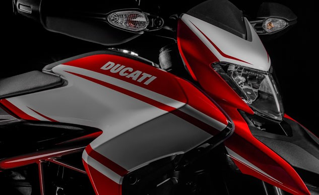2016 Ducati Hypermotards Headlamp