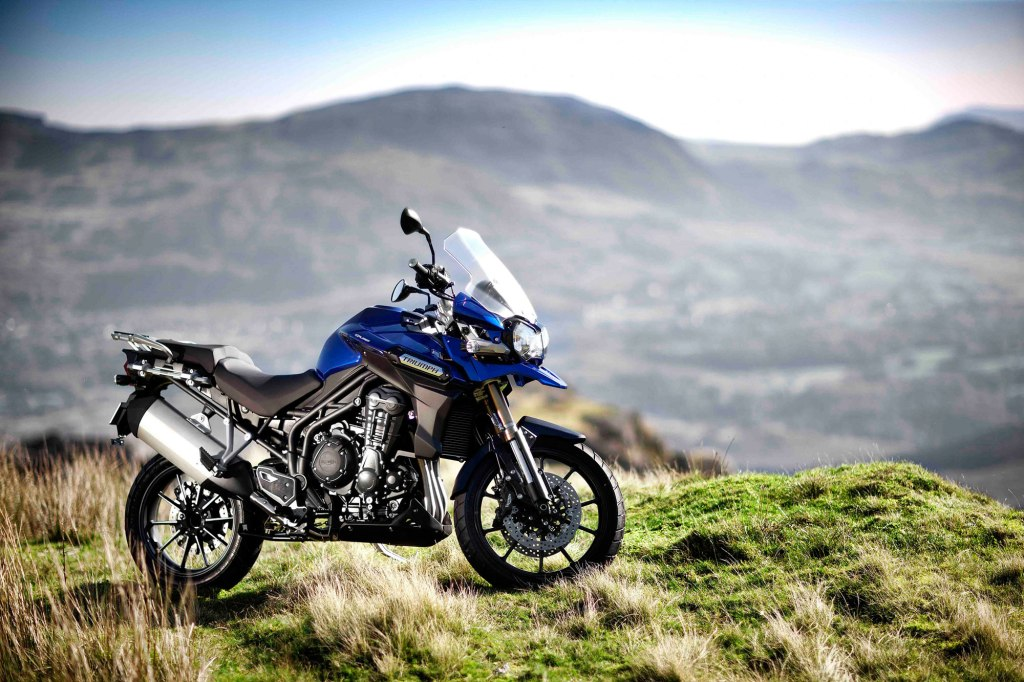2016 Triumph Tiger Explorer Blue Color