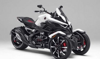 Honda Neowing Three-Wheel Hybrid Concept