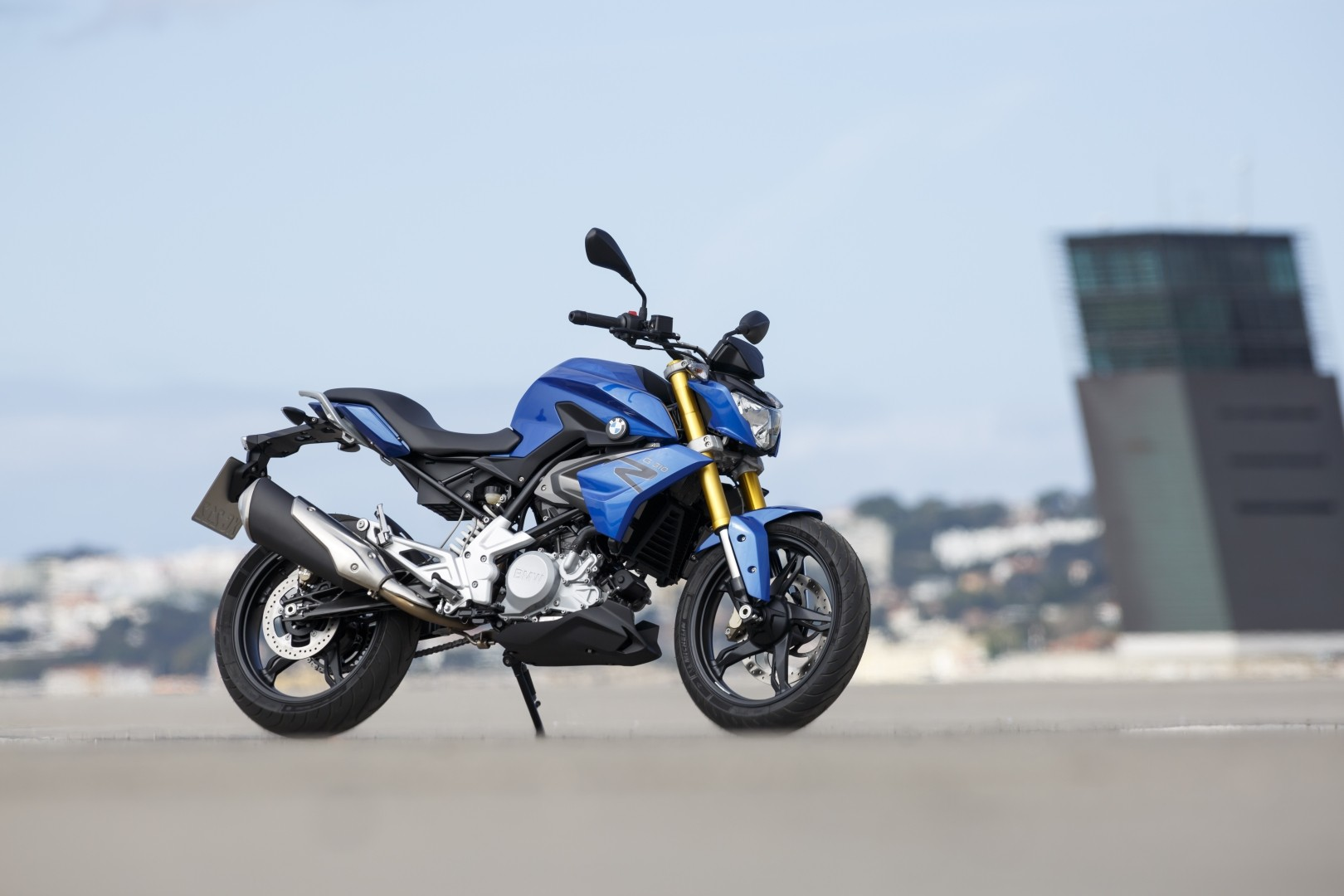 2016 BMW G310R Blue Color