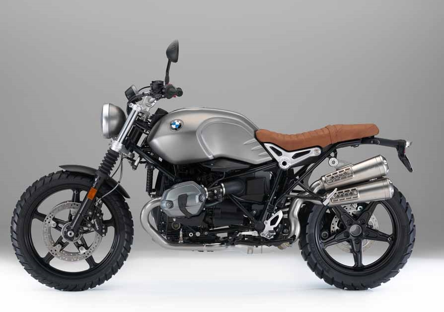2016 BMW R NineT Scrambler Side View