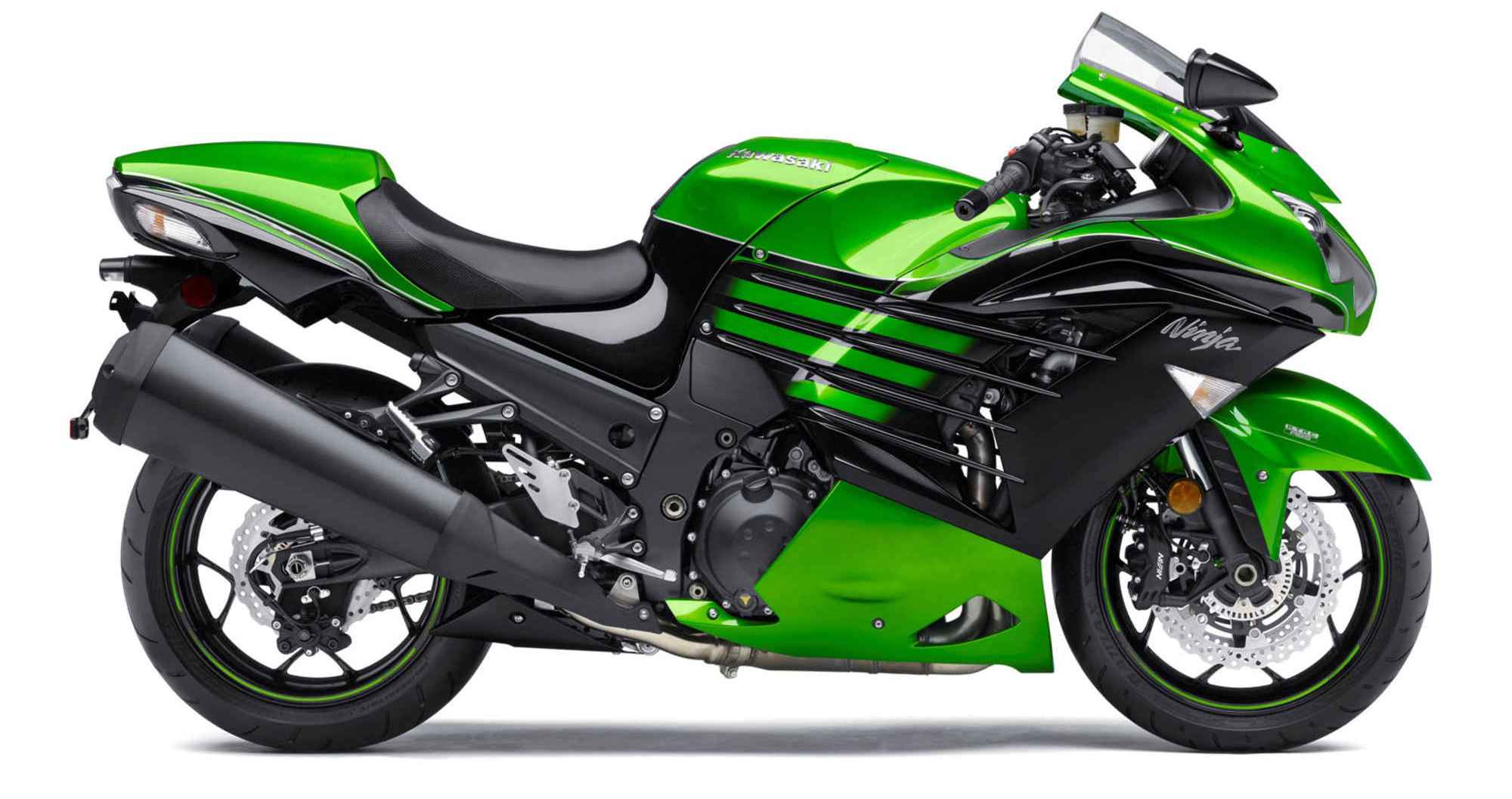 2016 Kawasaki ZX-14R ABS Green Color