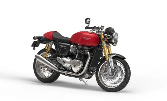 2016 Triumph Thruxton R Red Color