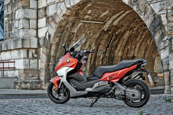 2016 BMW C650 Sport Scooters Red Colour