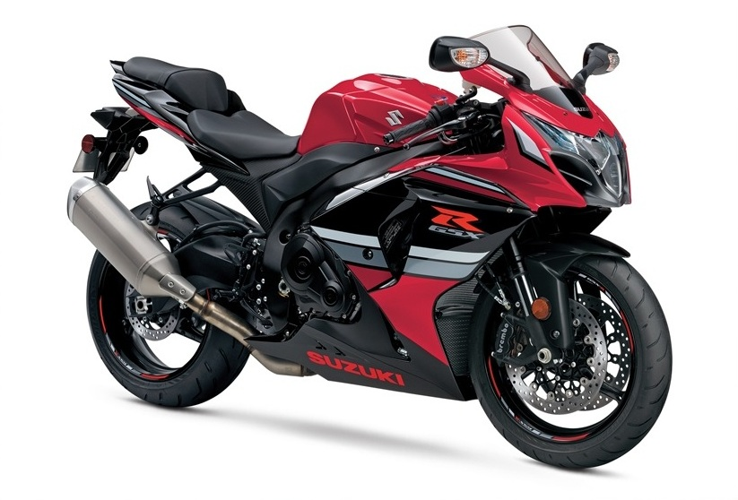 2016 Suzuki GSXR 1000 Red Color